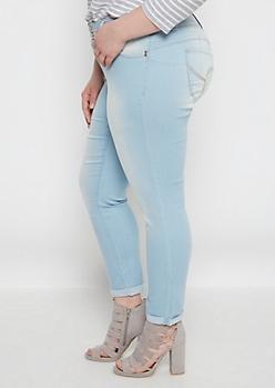 Plus Better Butt Vintage Anklet Jean