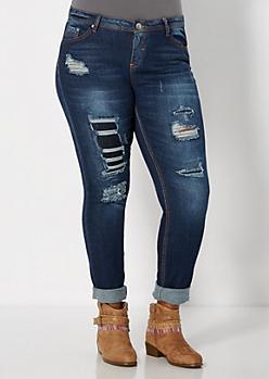 Plus Ripped Skinny Jean