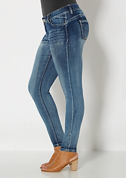 Plus Brushed Vintage Better Booty Skinny Jean