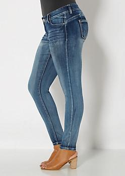 Plus Brushed Vintage Better Booty Skinny Jean
