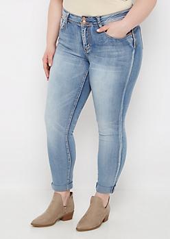 Plus Vintage 2-Shank Skinny Jean