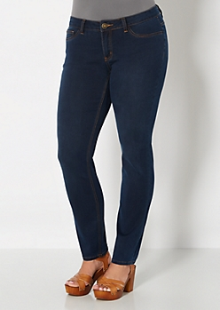Plus Dark Wash Jegging