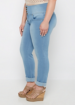 Plus Better Butt Vintage High Waist Skinny Jean