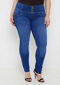 Plus Better Butt High Waist Skinny Jean