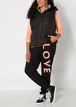Plus Love Fleece Jogger