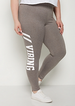 Plus Vibing High Rise Soft Knit Legging