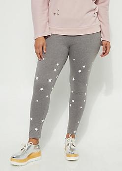 Plus Starry High Rise Legging