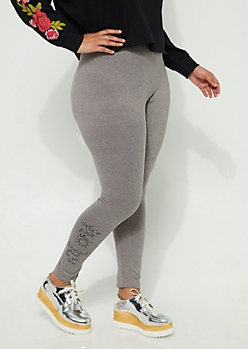 Plus Beautiful Place Legging High Rise Legging