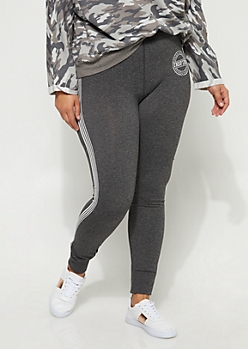 Plus Inspire Striped Legging