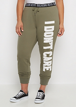 Plus Breaking New Slim Jogger