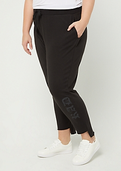 Plus Rad Step Hem Jogger