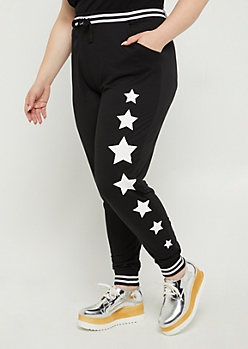Plus Starry Soft Brushed Jogger