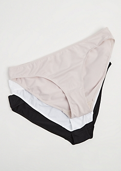 Plus 3-Pack Smooth Fitting Bikini Undie