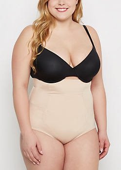 Plus Nude High Waist Shapewear