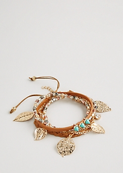 Free Spirited Bracelet Cluster - Wider Fit
