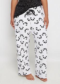 Plus Plush Panda Sleep Pant