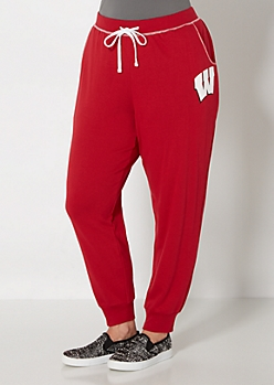 Plus Wisconsin Badgers Terry Jogger