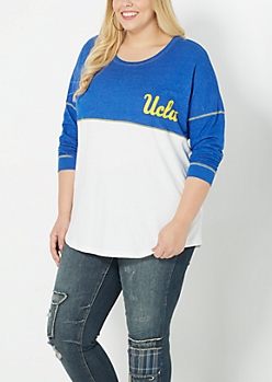 Plus UCLA Blocked Sweatshirt