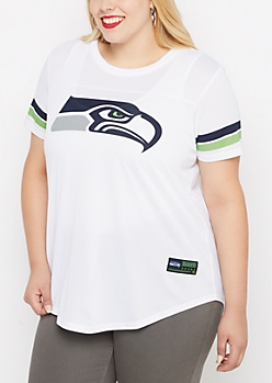 Plus Seattle Seahawks Jersey Tee
