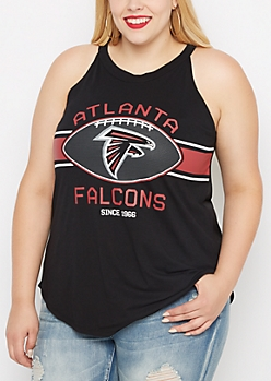 Plus Atlanta Falcons High Neck Tank