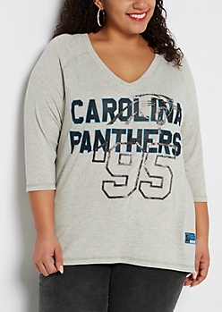 Plus Carolina Panthers Caviar Foiled Shirt