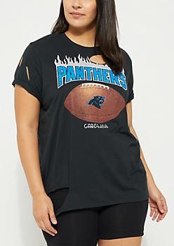 Plus Carolina Panthers Washed Tee
