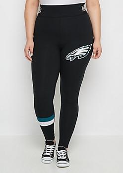 Plus Philadelphia Eagles Striped Legging
