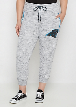 Plus Carolina Panthers Space Dye Jogger