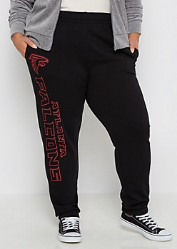 Plus Atlanta Falcons Logo Leg Jogger