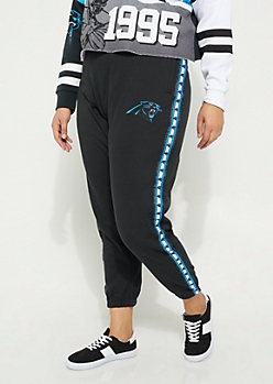 Plus Carolina Panthers Logo Joggers