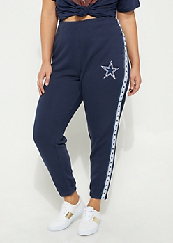 Plus Dallas Cowboys Logo Joggers