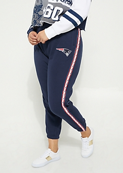 Plus New England Patriots Logo Joggers
