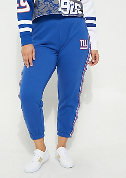 Plus New York Giants Logo Joggers