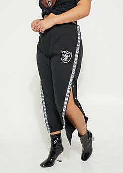 Plus Oakland Raiders Logo Joggers