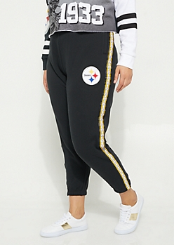 Plus Pittsburgh Steelers Logo Joggers
