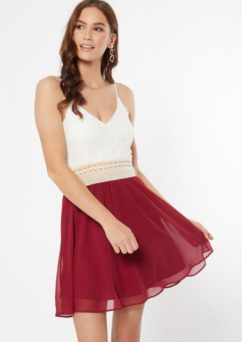 Rue21 Women's Lace Crochet Dress (3 styles)