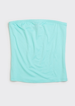 Mint Green Soft Tube Top