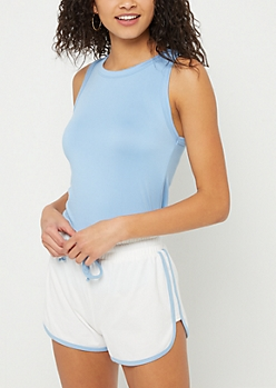 Blue Super Soft Tank Top