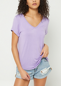 Purple Favorite Relaxed Fit Tee