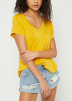 Dark Yellow Favorite Relaxed Fit Tee