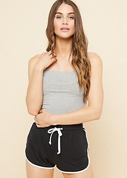 Heather Gray Long Length Cami