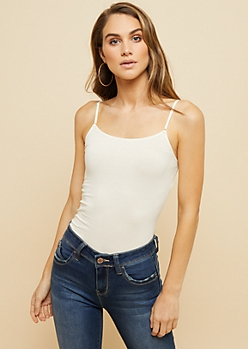 Ivory Long Length Cami