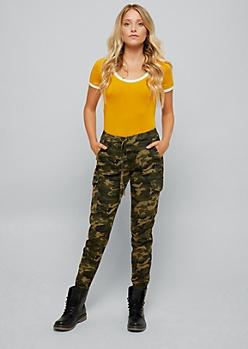 Mustard Ringer Super Soft Bodysuit