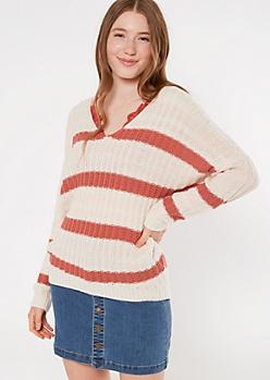 Pink Slouchy Dolman Sleeve Sweater