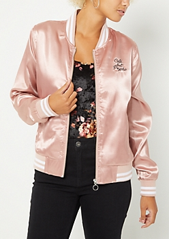 Cute But Psycho Bomber Jacket