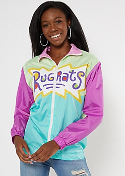 Colorblock Rugrats Rollin Deep Windbreaker