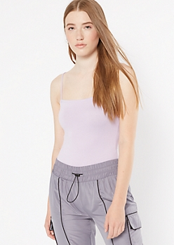 Lilac Super Soft Bungee Bodysuit