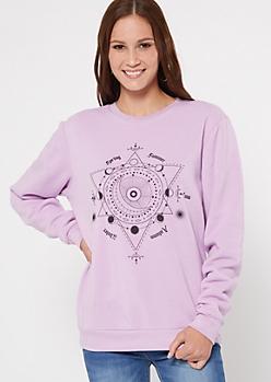 Lavender Celestial Sweatshirt
