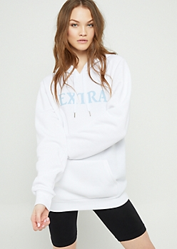 White Extra Hoodie