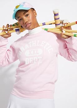 Lavender Unathletic Drip Sweatshirt